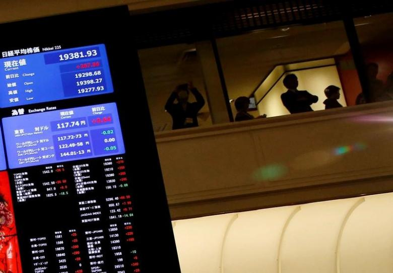 Asia stocks firm ahead of U.S. jobs, dollar hits seven-week high vs yen