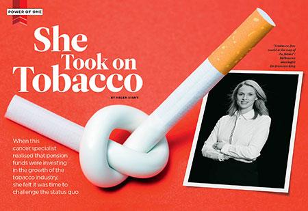 She Took On Tobacco