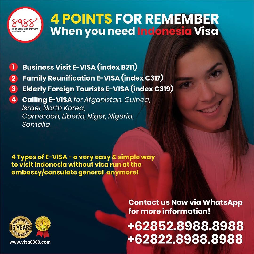 Indonesia E-Visa - a Very Easy & Simple Way to Visit Indonesia